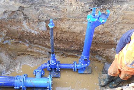 Sieci wodociągowe ikanalizacyjne